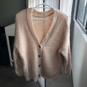 Beige Forever 21 Sweater